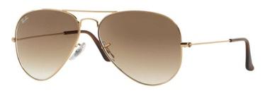 Солнцезащитные очки Ray-Ban Aviator Gradient RB3025 001/51 58-14, 58 мм