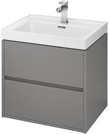 Vannas istabas skapītis Cersanit S924-016 Crea Basin 600x450x530mm Gray
