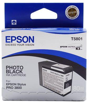 Epson T5801 Black Cartridge