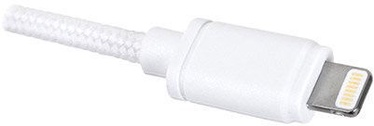 OWC Cable Prem. Braided USB to Lightning 0.5m White
