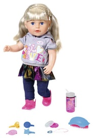 Кукла Zapf Creation Baby Born Soft Touch Sister 43см Blond
