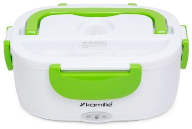 Kamille Electric Lunch Box 1L Green KM2130