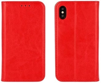 Mocco Special Leather Book Case For Apple iPhone 5/5s/SE Red