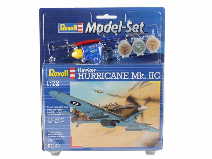 Konstruktors Revell Model Set Hawker Hurricane MkII C 1:72 64144R
