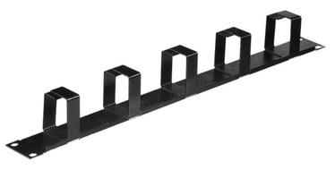 Netrack Cable Organizer 1U 19'' Black
