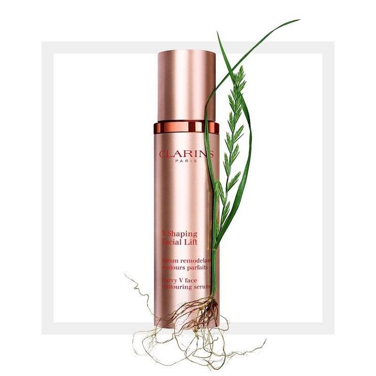 Sejas serums Clarins V Shaping Facial Lift, 50 ml