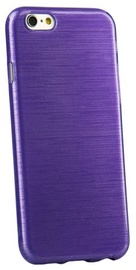 Forcell Jelly Brush Back Case For Samsung J100H Galaxy J1 Violet