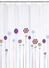 Vannas istabas aizkars Rayen Flowers, 1800x2000 mm