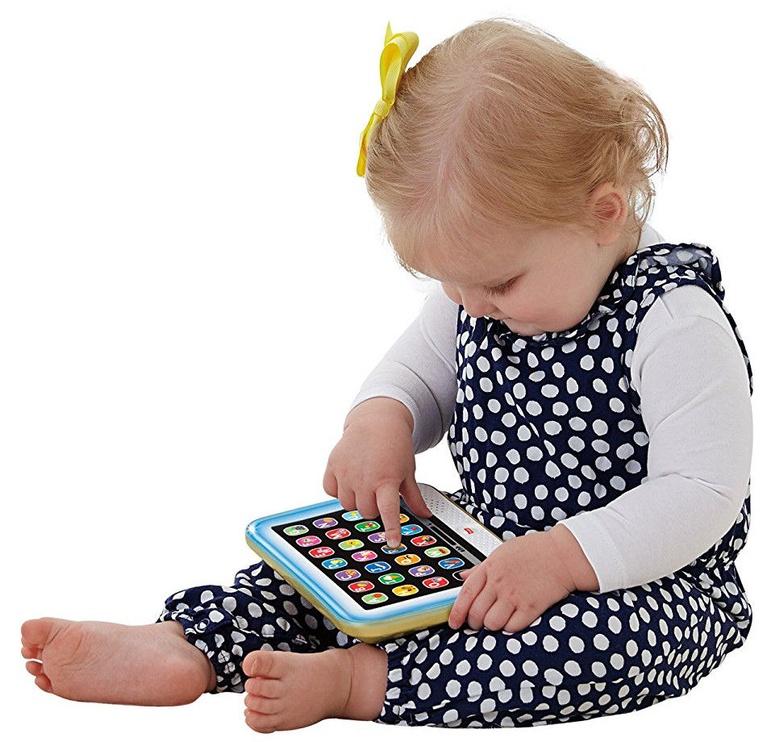 Interaktīva rotaļlieta Fisher Price Laugh & Learn Smart Stages Tablet DHY54, RU