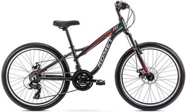 "Bērnu velosipēds Romet Rambler Fit 2224587, sarkana/pelēka, 12"", 24"""