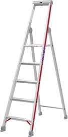 Hymer Step Ladder with Platform Single-Sided 7-Steps