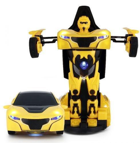 Rotaļu mašīna - robots Rastar RS Police 1:32 Transformer 61800