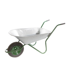 Limex Wheelbarrow 100301 Steel/​Green 80l