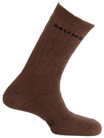 Mund Socks Hunting/Fishing Brown XL