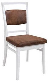 Black Red White Kalio Chair White/Brown