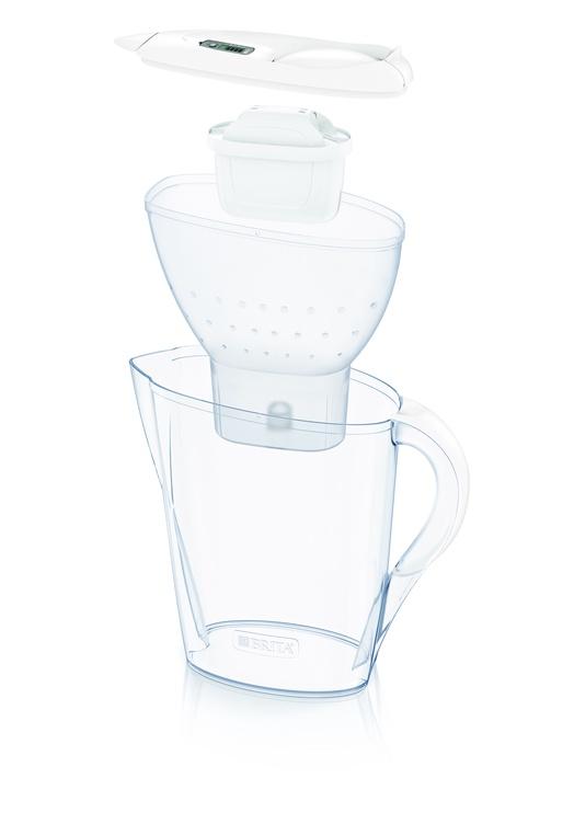 Ūdens filtrēšanas trauks BRITA Marella 2.4L memo, balts