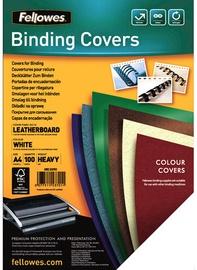 Iesiešanas mape Fellowes Delta A4 FSC Binding Cover Leather White