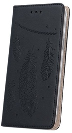 Mocco Stamp Plume Magnet Book Case For Samsung Galaxy A5 A510 Black