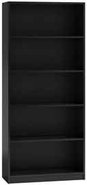 Top E Shop Shelf Unit 80cm Black