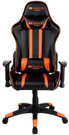 Spēļu krēsls Canyon Fobos CND-SGCH3 Black/Orange