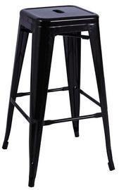 Bāra krēsls Signal Meble Hoker Black Matt