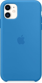 Apple Silicone Back Case For Apple iPhone 11 Surf Blue
