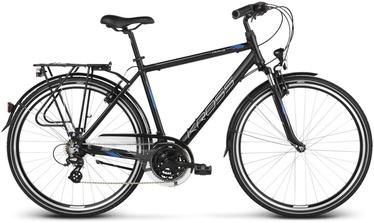 "Kross Trans 2.0 M 28"" Black Blue Silver Matte 19"
