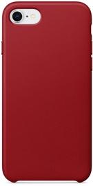 Hurtel Eco Leather Back Case For Apple iPhone 7/8/SE 2020 Red