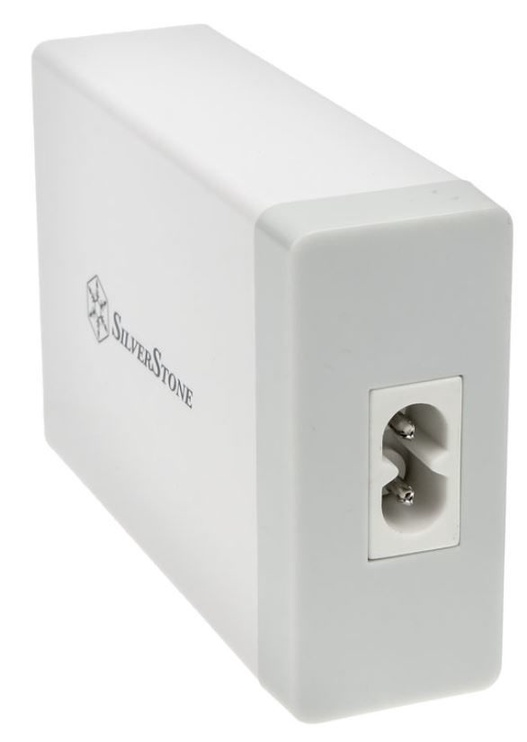 Silverstone Charger Adapter USB x 5 White