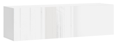 Vivaldi Meble Vivo 03 Wall Shelf White/White Gloss