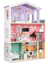 EcoToys Wooden House With Elevator 1006