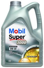 Motoreļļa Mobil Super 3000 VC 0W - 30, sintētiskais, vieglajam auto, 5 l