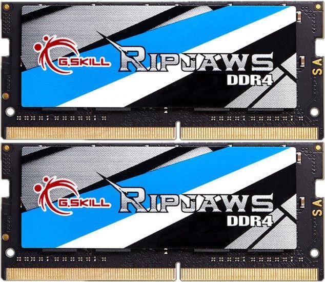 Operatīvā atmiņa (RAM) G.SKILL RipJaws F4-2400C16D-8GRS DDR4 (SO-DIMM) 8 GB CL16 2400 MHz
