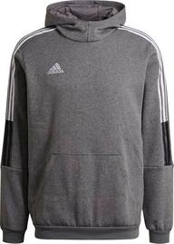 Džemperi Adidas Tiro 21 Sweat Hoodie GP8805 Grey 2XL