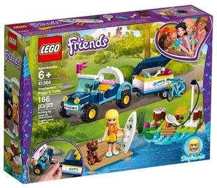 Konstruktors Lego Friends Stephanie's Buggy & Trailer 41364