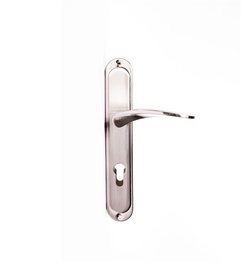 Domoletti Door Handle A52014 Cyl Plate 72m C Matt Nickel