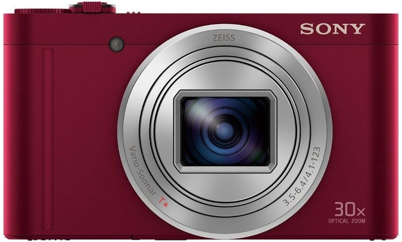 Sony WX500 Compact Camera Red