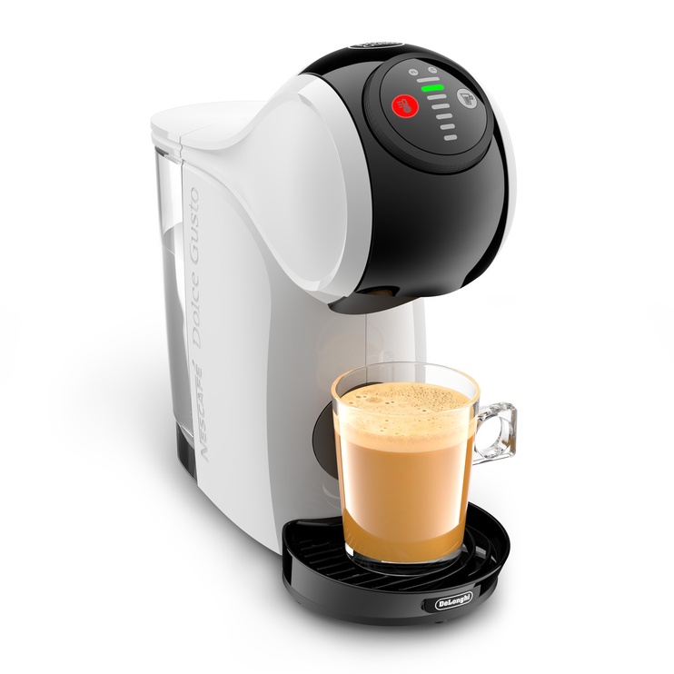 Kapsulas kafijas automāts De'Longhi EDG225.W, balta/melna