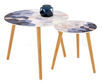 Kafijas galdiņš Halmar Tequila Multi, 600x600x480 mm