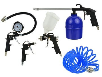 Geko Pneumatic Set With Blow And Spray Guns 5pcs