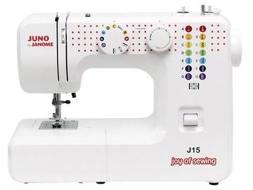 Швейная машина Janome Juno J15, электомеханическая швейная машина