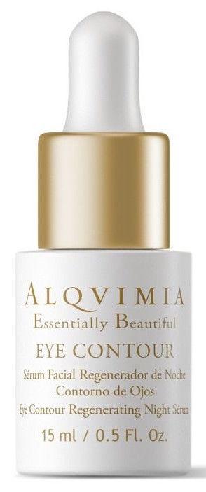 Сыворотка для лица Alqvimia Essentially Beautiful Eye Contour Night Serum, 15 мл