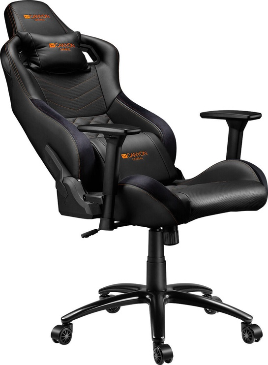 Spēļu krēsls Canyon Nightfall GC-7, melna