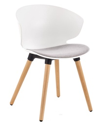 Halmar K308 Chair White/Gray