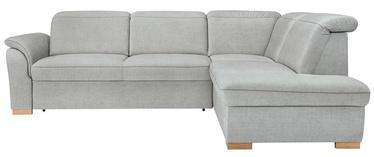 Stūra dīvāns Black Red White Marten 2F.Recbk Kingston Gray, 256 x 202 x 100 cm