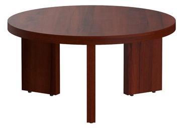 Kafijas galdiņš Skyland ST 840 Burgundy, 800x800x400 mm