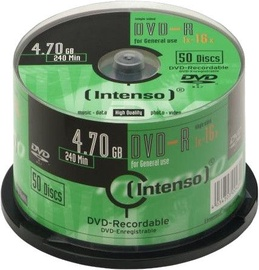 Intenso DVD-R 16x 4.7GB 50pcs. Cake Box 4101655
