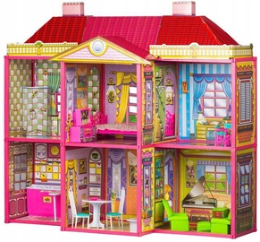 EcoToys Dollhouse Villa With Furniture