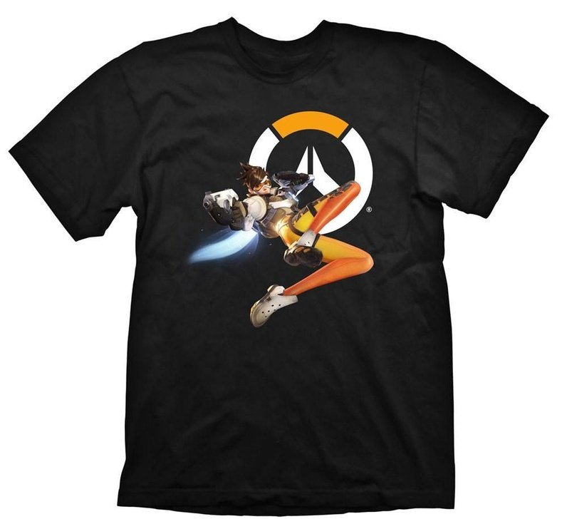 Gaya Entertainment T-Shirt Overwatch Tracer Black S