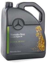 Машинное масло Mercedes-Benz MB 229.51 5W - 30, для легкового автомобиля, 5 л